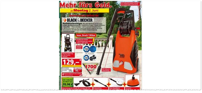 Black & Decker PW 1700 SPM Plus Norma