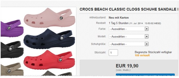 Crocs Beach Classic kaufen