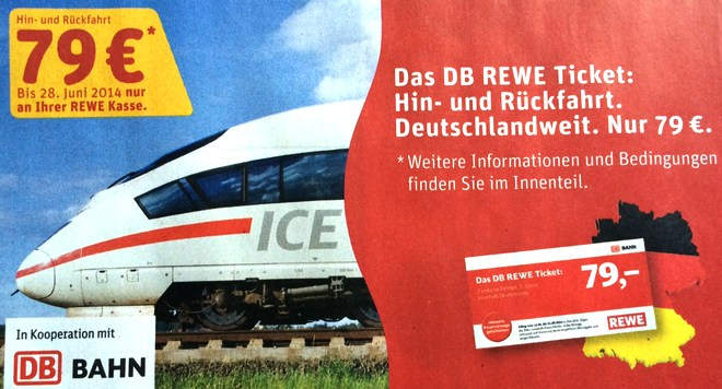 DB REWE Ticket