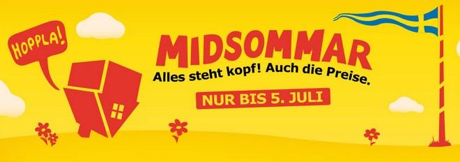 IKEA Midsommar Schlussverkauf