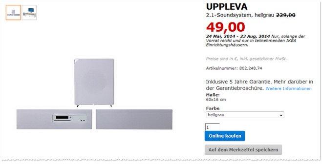 IKEA UPPLEVA Soundsystem