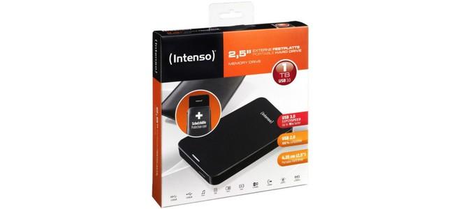 Intenso Memory Drive Festplattte mit 1 TB & USB 3.0