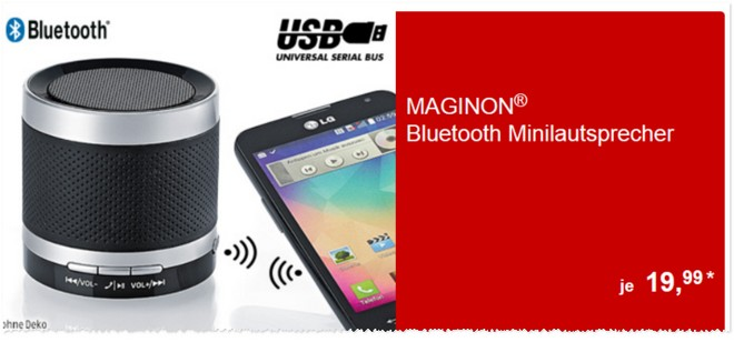 Maginon BS 5 Bluetooth Minilautsprecher