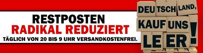 Media Markt Aktion Deutschland kauf uns leer