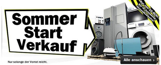 Media Markt Sommerstartverkauf