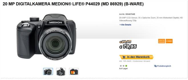 Medion Life P44029 MD 86929 als B-Ware
