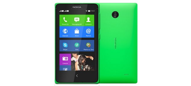 Nokia X ohne Vertrag