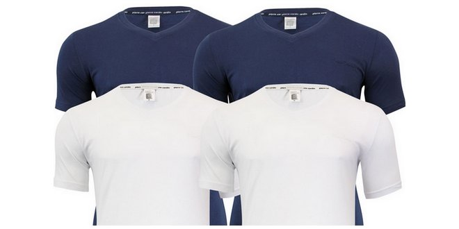 Pierre Cardin T-Shirts im 4er-Pack