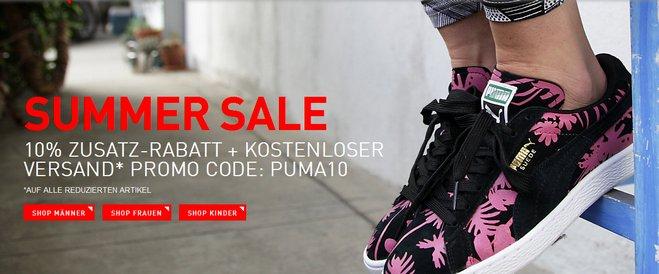 Puma Summer Sale