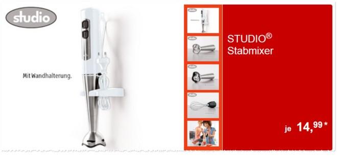 Studio Stabmixer Angebot