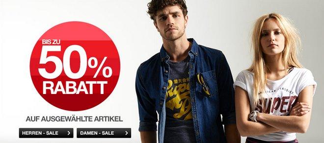 Superdry Summer Sale 50 Prozent