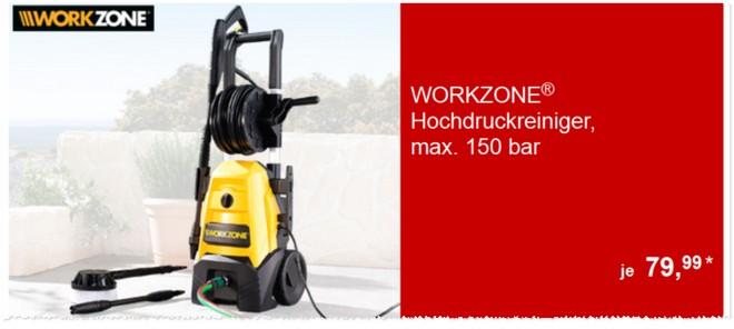 Workzone Hochdruckreiniger Angebot