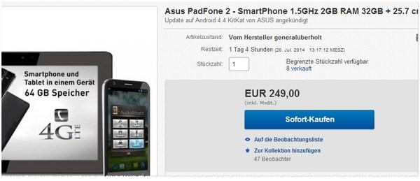 Asus Padfone 2 kaufen