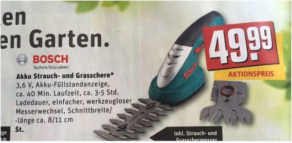 Bosch ISIO als REWE-Angebot