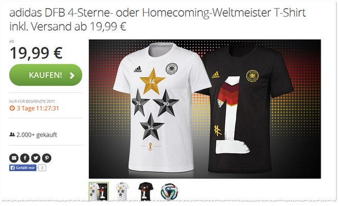 DFB Homecoming Shirt Nummer 1