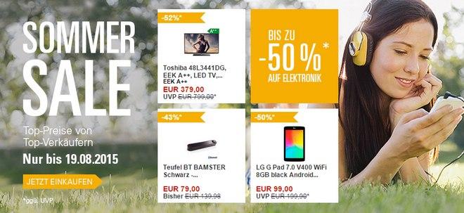 eBay Sommer Sale