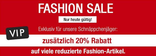 GALERIA Kaufhof Fashion Sale extra Rabatt