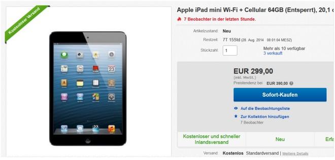 iPad mini Cellular