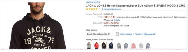 Jack&Jones Pullover günstiger