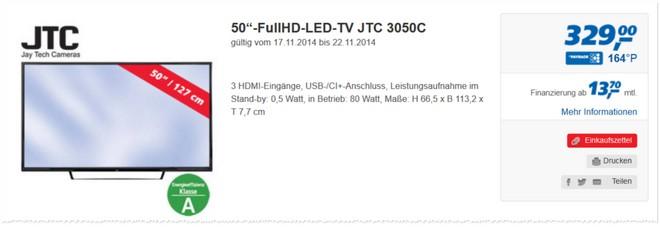 JTC 3050C Tests