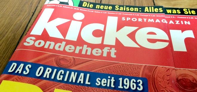 Kicker Bundesliga Sonderheft 2014/2015