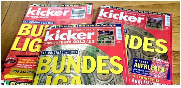 Kicker Sonderheft Bundesliga 2014/15
