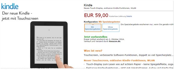 Kindle 2014