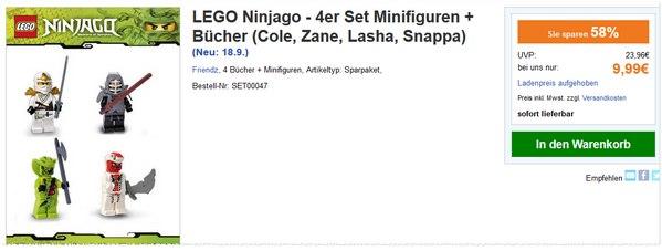 LEGO Ninjago Minifiguren