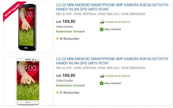 LG G2 mini kaufen