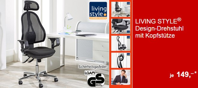 living style drehstuhl als aldi s d angebot ab 29. Black Bedroom Furniture Sets. Home Design Ideas