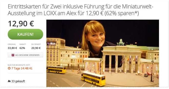 Loxx Gutscheine Berlin