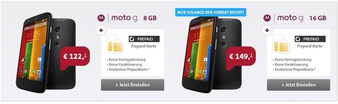 Motorola Moto G Preis günstig
