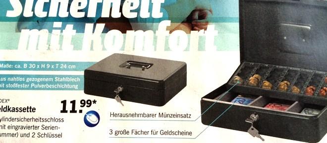 Ordex Geldkassette