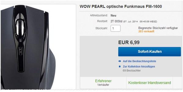 Pearl FM-1600 Funkmaus