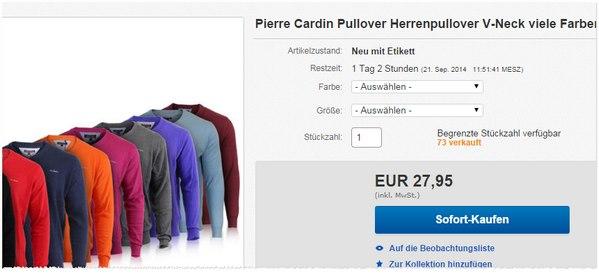 Pullover von Pierre Cardin im Angebot