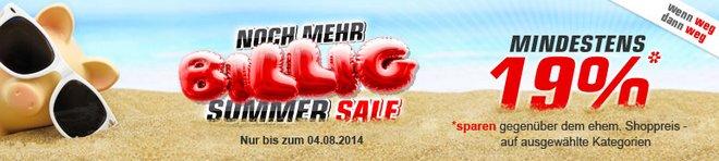 Redcoon Summer Sale 19 Prozent Mehrwertsteuer
