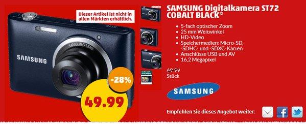 Samsung ST72 im Penny-Markt