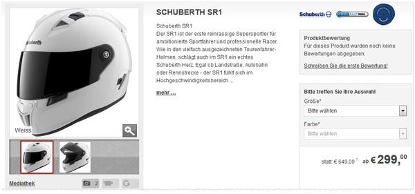 Schuberth SR 1 kaufen