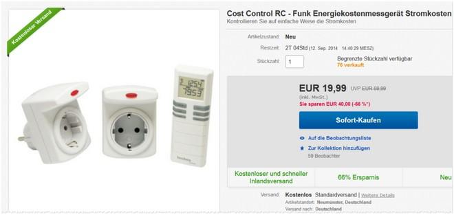 Technoline Cost Control Messgerät
