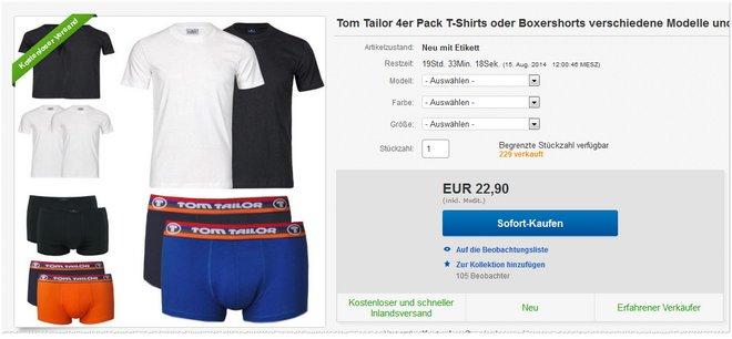Tom Tailor TShirt-Set