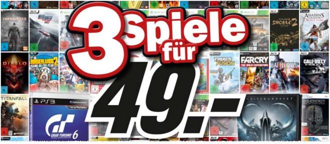 3 Spiele 49 Euro