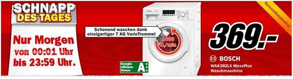 Bosch WAK282LX MaxxPlus als Media Markt Schnapp des Tages