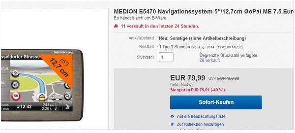 Medion GoPal E5470 kaufen