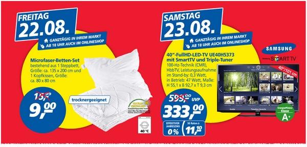 Samsung UE40H5373 als Real Preisbrecher