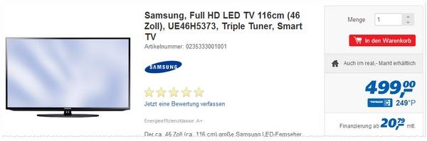 Samsung UE46H5373