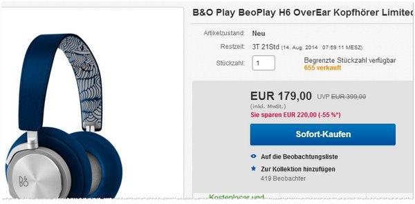 Bang und Olufsen BeoPlay H6 kaufen
