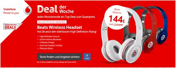 Beats Wireless Headset