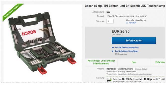 Bosch Vline Koffer