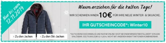 C&A Gutschein Winterjacken