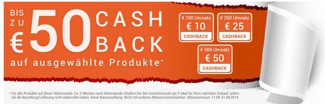 d-living Cashback Aktion